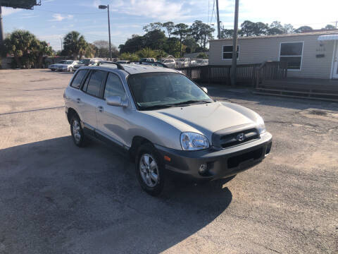 2006 Hyundai Santa Fe for sale at Friendly Finance Auto Sales in Port Richey FL