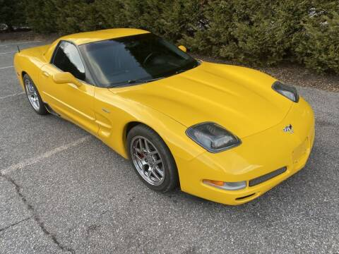 2003 Chevrolet Corvette for sale at Limitless Garage Inc. in Rockville MD