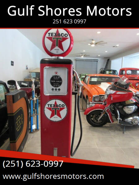 Texaco Pump Texaco Pump for sale at Gulf Shores Motors in Gulf Shores AL