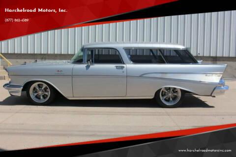 1957 Chevrolet Nomad for sale at Harchelroad Motors, Inc. in Wauneta NE