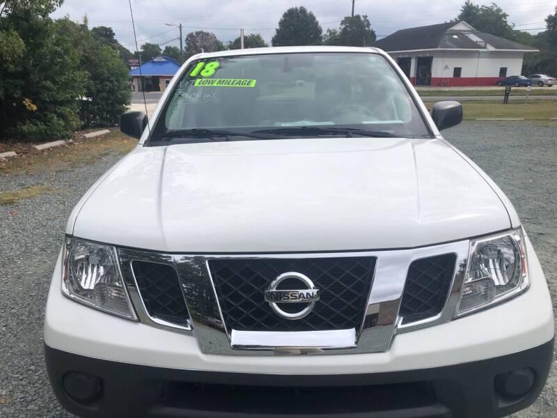 2018 Nissan Frontier for sale in Burlington, NC