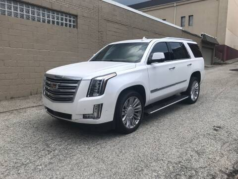 2017 Cadillac Escalade for sale at MG Auto Sales in Pittsburgh PA