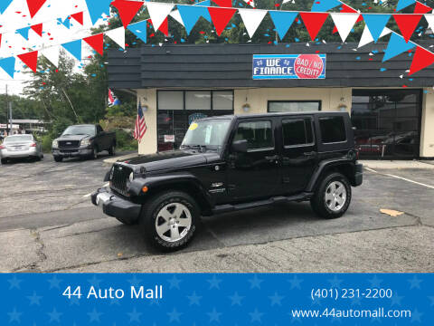 2009 Jeep Wrangler Unlimited for sale at 44 Auto Mall in Smithfield RI