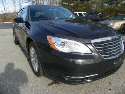 2012 Chrysler 200 for sale at Ed Davis LTD in Poughquag NY