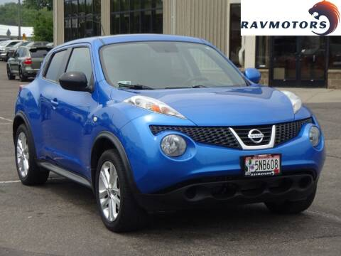 2012 Nissan JUKE for sale at RAVMOTORS 2 in Crystal MN