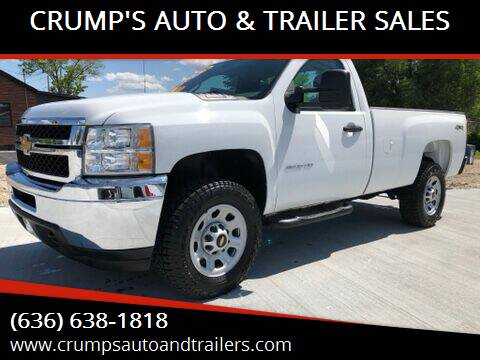 2014 Chevrolet Silverado 3500HD for sale at CRUMP'S AUTO & TRAILER SALES in Crystal City MO