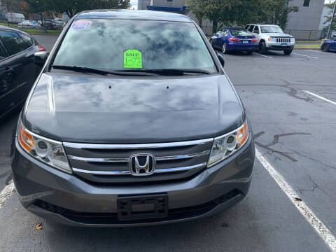2012 Honda Odyssey for sale at CAR CORNER RETAIL SALES in Manchester CT