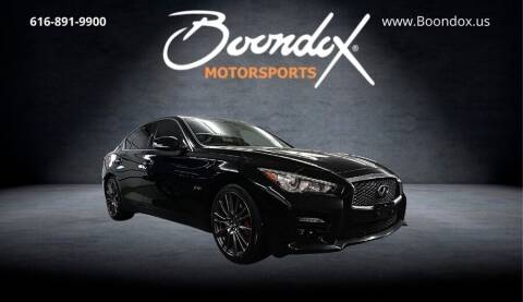 2017 Infiniti Q50 for sale at Boondox Motorsports in Caledonia MI