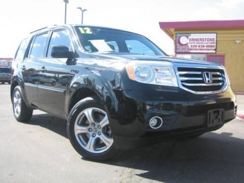 2012 Honda Pilot for sale at Cornerstone Auto Sales in Tucson AZ