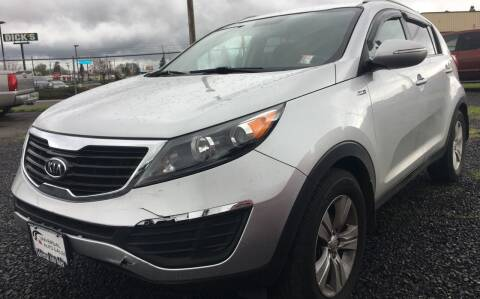 2012 Kia Sportage for sale at Universal Auto INC in Salem OR