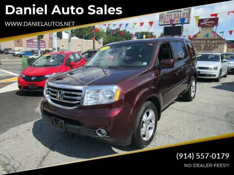 2014 Honda Pilot for sale at Daniel Auto Sales in Yonkers NY