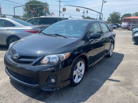 2013 Toyota Corolla for sale at American Best Auto Sales in Uniondale NY
