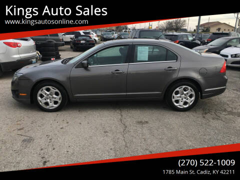 2011 Ford Fusion for sale at Kings Auto Sales in Cadiz KY