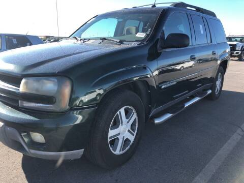 2004 Chevrolet TrailBlazer EXT for sale at BELOW BOOK AUTO SALES in Idaho Falls ID