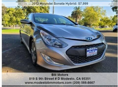 2012 Hyundai Sonata Hybrid for sale at BM Motors in Modesto CA