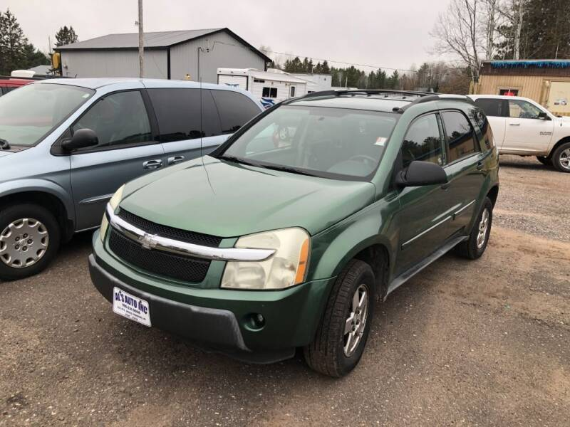 2005 Chevrolet Equinox for sale at Al's Auto Inc. in Bruce Crossing MI