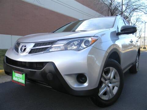 2015 Toyota RAV4 for sale at Dasto Auto Sales in Manassas VA