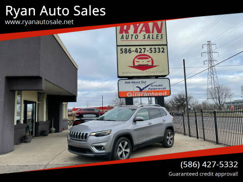 2019 Jeep Cherokee for sale at Ryan Auto Sales in Warren MI