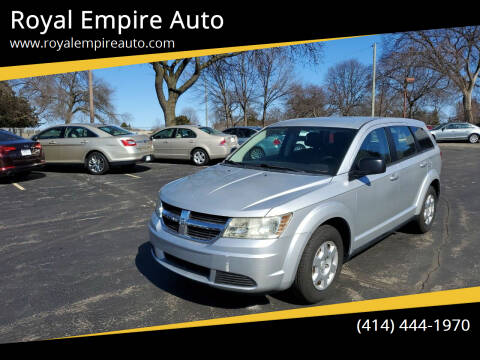2010 Dodge Journey for sale at Royal Empire Auto in Milwaukee WI