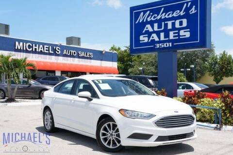 2017 Ford Fusion for sale at Michael's Auto Sales Corp in Hollywood FL