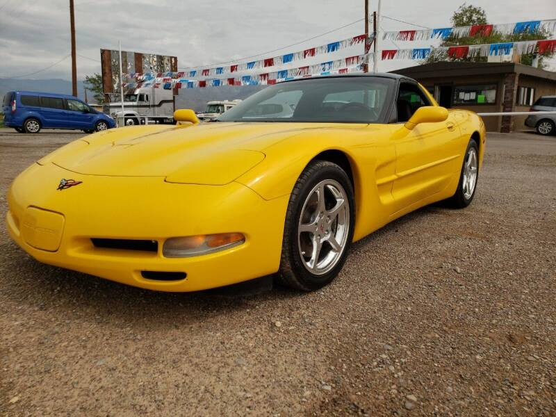 2001 Chevrolet Corvette for sale at Bickham Used Cars in Alamogordo NM