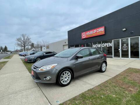 2012 Ford Focus for sale at HOUSE OF CARS CT in Meriden CT