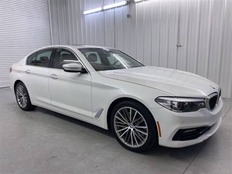 2018 BMW 5 Series for sale at JOE BULLARD USED CARS in Mobile AL