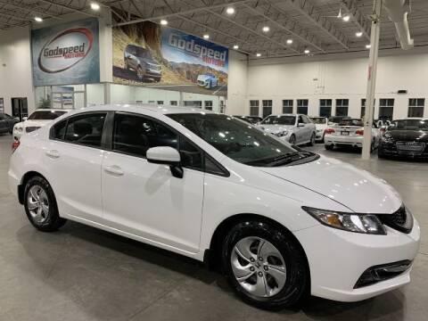 2014 Honda Civic for sale at Godspeed Motors in Charlotte NC