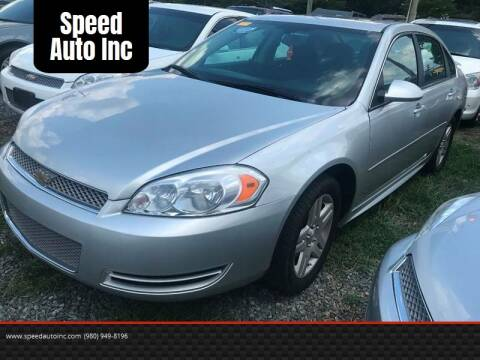2009 Chevrolet Impala for sale at Speed Auto Inc in Charlotte NC