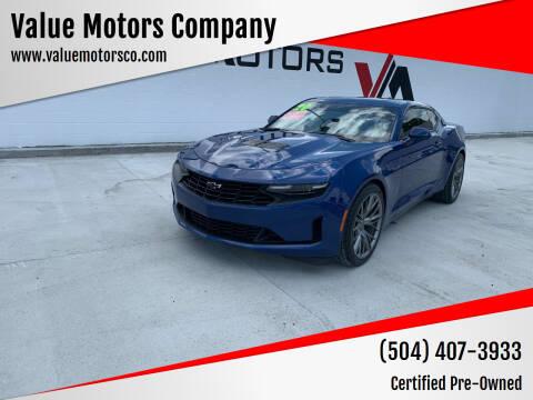 2020 Chevrolet Camaro for sale at Value Motors Company in Marrero LA