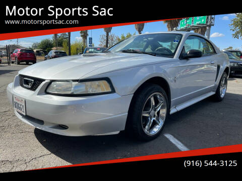 2000 Ford Mustang for sale at Motor Sports Sac in Sacramento CA