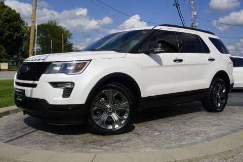 2018 Ford Explorer for sale at Platinum Motors LLC in Heath OH