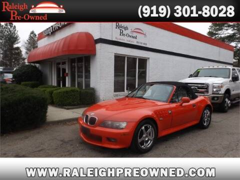 2002 BMW Z3 for sale at Raleigh Pre-Owned in Raleigh NC