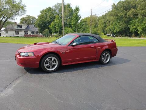 2003 Ford Mustang for sale at Depue Auto Sales Inc in Paw Paw MI