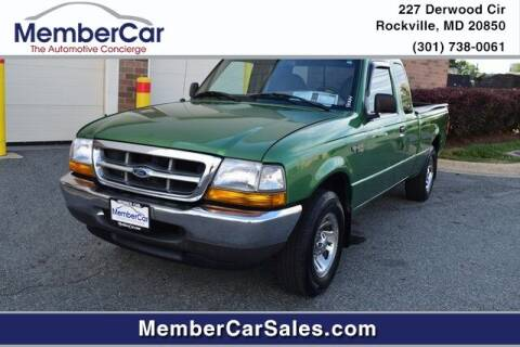 1999 Ford Ranger for sale at MemberCar in Rockville MD