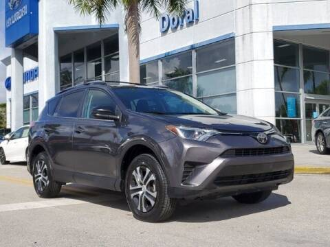 2017 Toyota RAV4 for sale at DORAL HYUNDAI in Doral FL