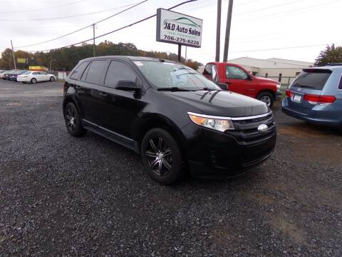 2013 Ford Edge for sale at J & D Auto Sales in Dalton GA