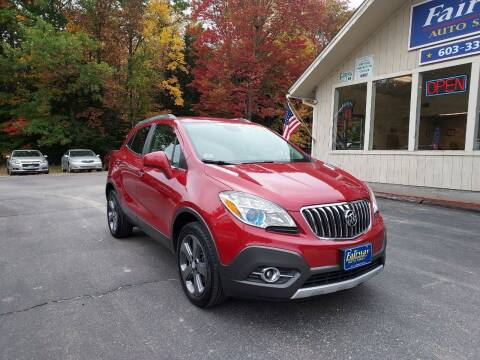 2013 Buick Encore for sale at Fairway Auto Sales in Rochester NH