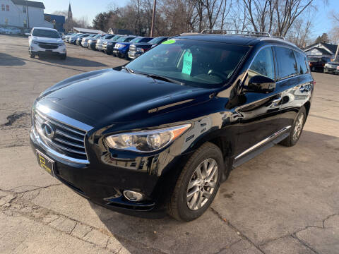 2014 Infiniti QX60 for sale at PAPERLAND MOTORS in Green Bay WI