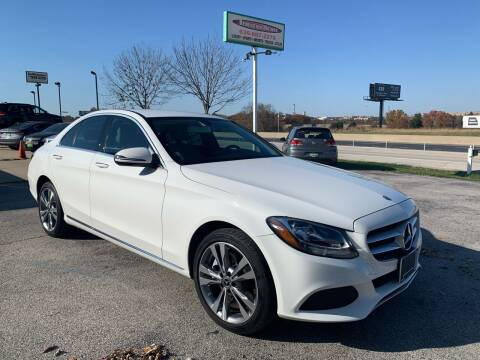 2017 Mercedes-Benz C-Class for sale at Revolution Motors LLC in Wentzville MO