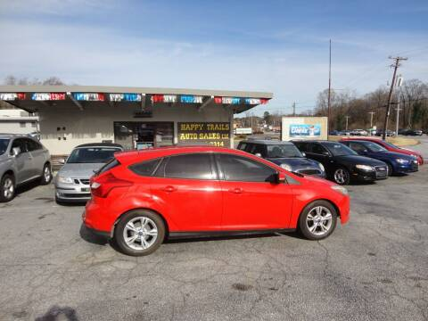 2014 Ford Focus for sale at HAPPY TRAILS AUTO SALES LLC in Taylors SC