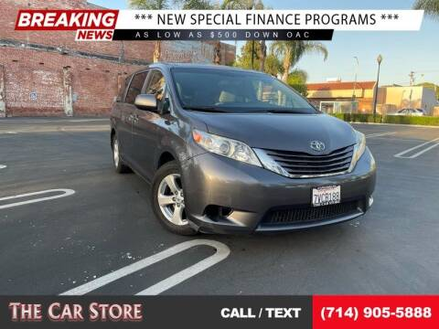 2015 Toyota Sienna for sale at The Car Store in Santa Ana CA
