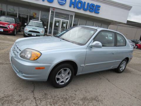 2005 Hyundai Accent for sale at Auto House Motors in Downers Grove IL