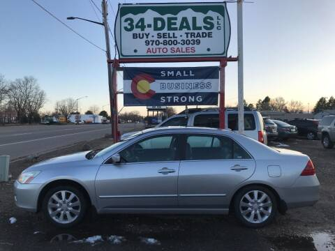 2006 Honda Accord for sale at 34 Deals LLC in Loveland CO