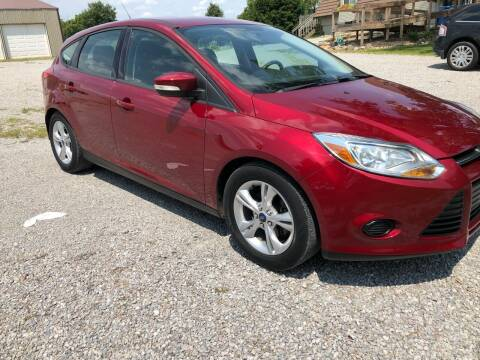 2014 Ford Focus for sale at AutoWorx Sales in Columbia City IN