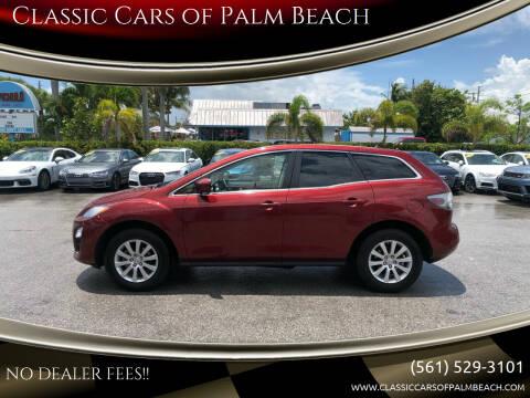 2012 Mazda CX-7 for sale at Classic Cars of Palm Beach in Jupiter FL