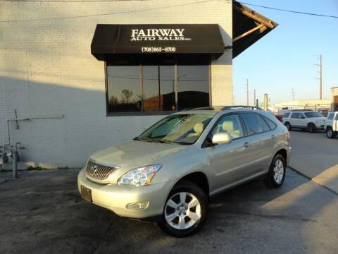 2005 Lexus RX 330 for sale at FAIRWAY AUTO SALES, INC. in Melrose Park IL