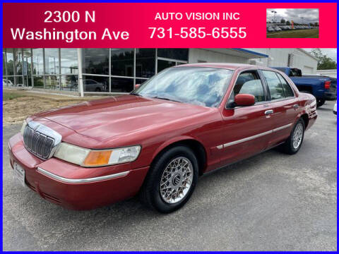 1999 Mercury Grand Marquis for sale at Auto Vision Inc. in Brownsville TN