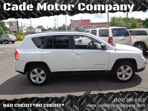 2012 Jeep Compass for sale at Cade Motor Company in Lawrence Township NJ