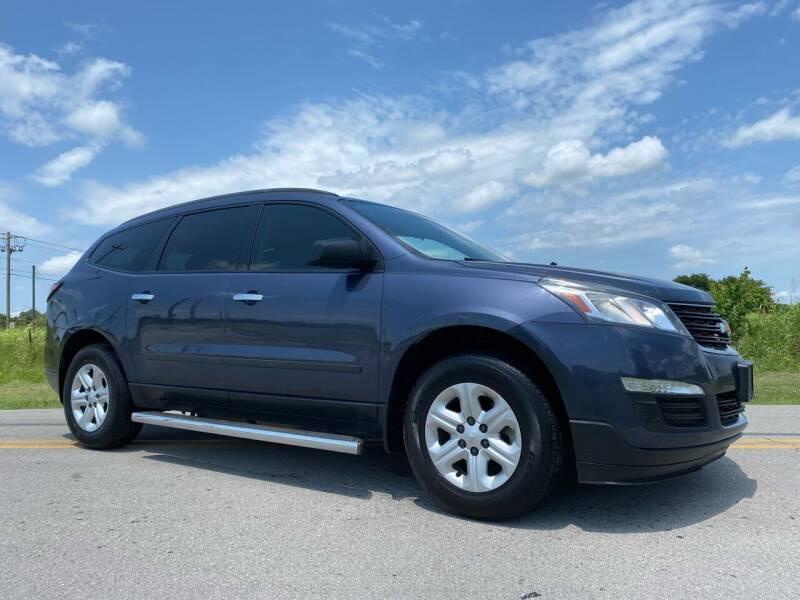 2014 Chevrolet Traverse for sale at ILUVCHEAPCARS.COM in Tulsa OK